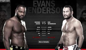 Evans vs Henderson