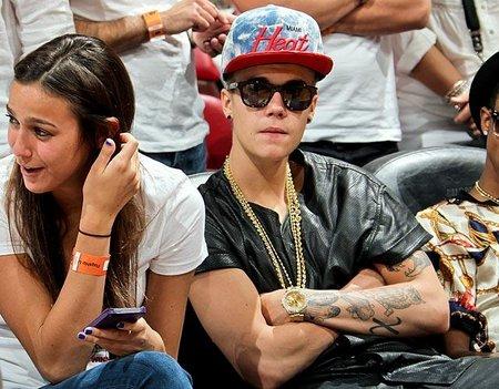 Justin Bieber-Miami Heat