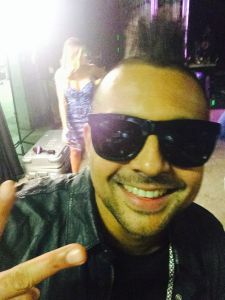 Sean Paul selfie