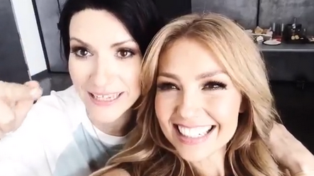 thalia-laura-pausini-video