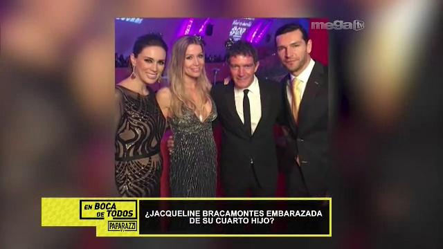 Jacqueline Bracamontes embarazada de su cuarto hijo? • mega.tv