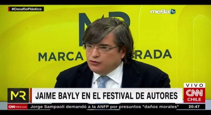 Jaime Bayly 10 10 19 Fragmento De La Entrevista De Jaime Bayly En Cnn Chile Mega Tv Jaime bayly con deseret tavaresinstagram / deseret tavares oficial. mega tv